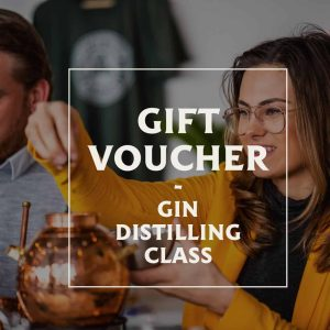 Gift voucher gin distilling class in the spirited union distillery in amsterdam