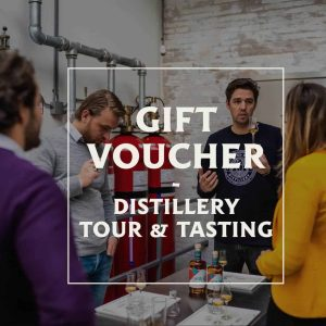 Gift voucher distillery tour & tasting in de Spirited Union Distillery in Amsterdam