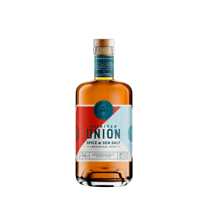 70 cl bottle of spirited union spice & sea salt botanical rum
