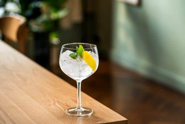 Lemon & Leaf Botanical Rum with Fever Tree Tonic