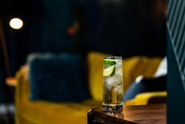 Union Lemon & Leaf Botanical Rum with Fever Tree Ginger Ale