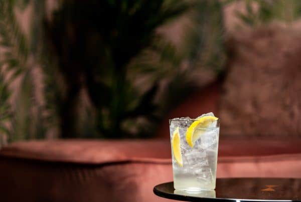 Union Lemon & Leaf Botanical rum with Fever Tree lemonade