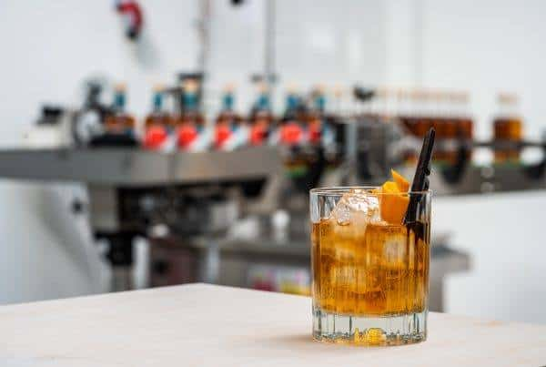Old fashioned cocktail with Spirited Union Spice & Sea salt