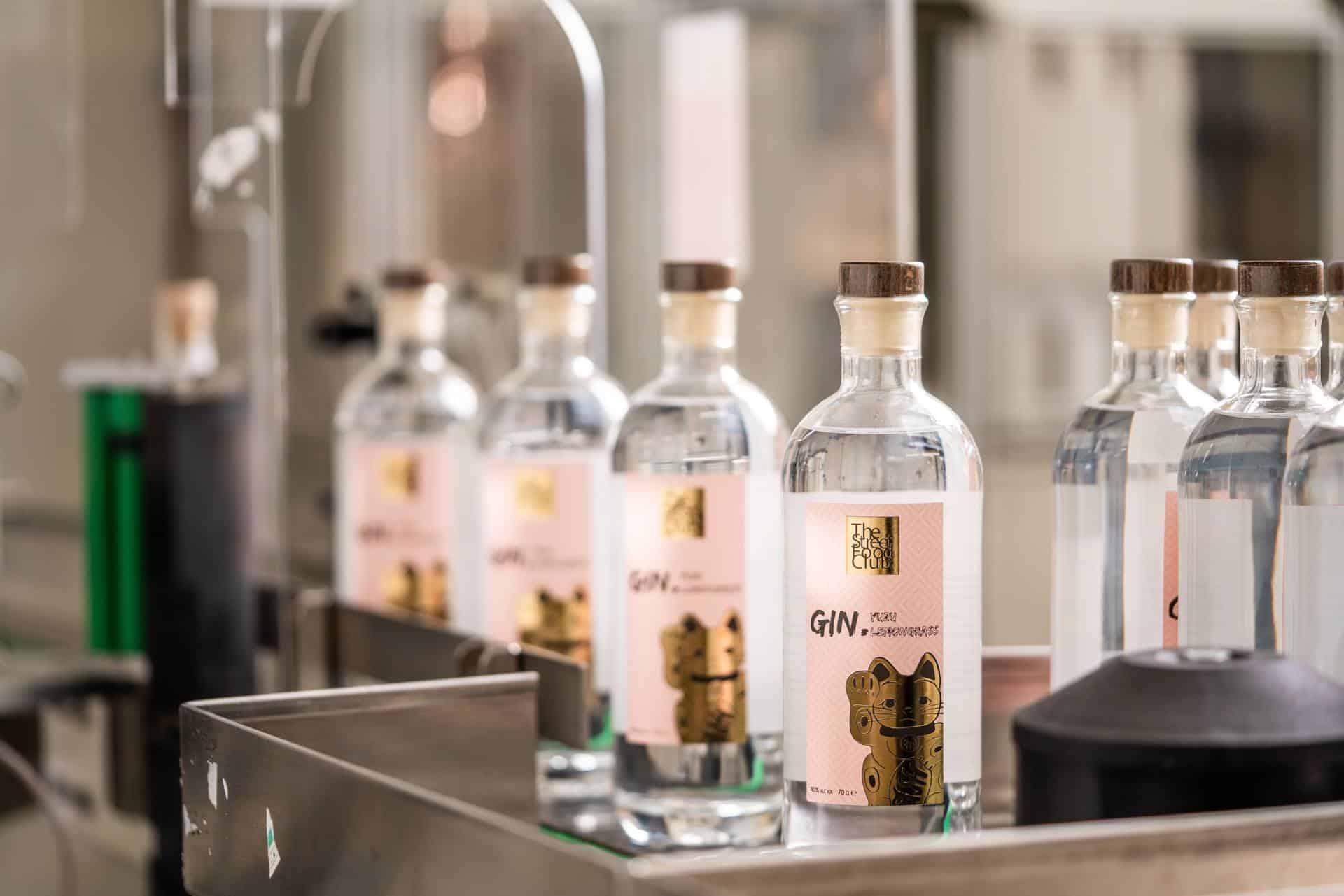 Private Label streetfood club gin