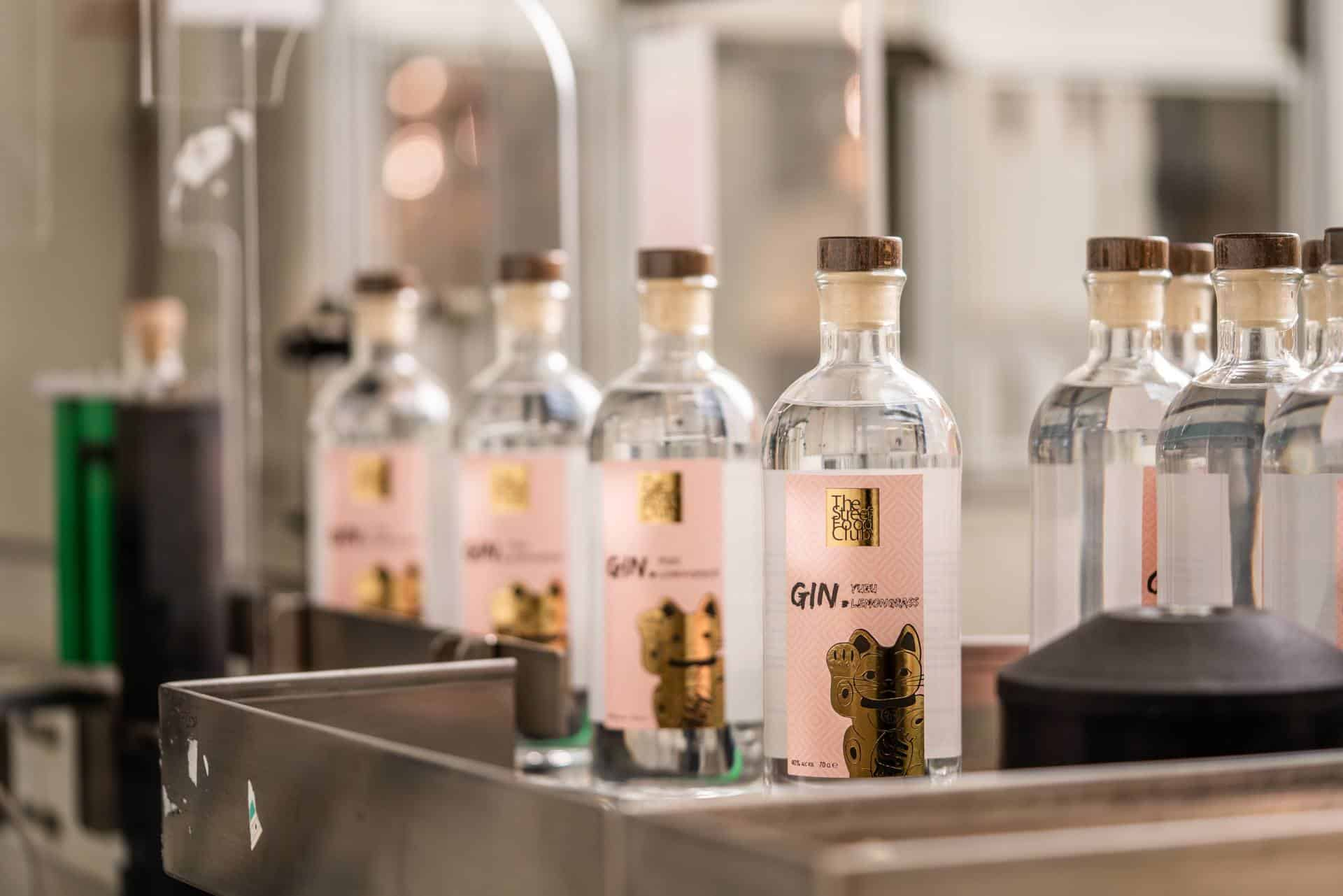 Contract Distilling Streetfood club gin