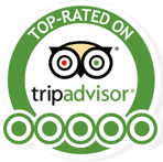 Tripadvisor top rated logo
